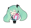 76 80 Hatsune Miku emoticons free download