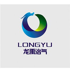Permalink to 'Long YU' Environmental protection company Logo-Chinese Logo design