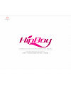 'HipBoy' Boys and girls clothing shopping website Logo-Chinese Logo design