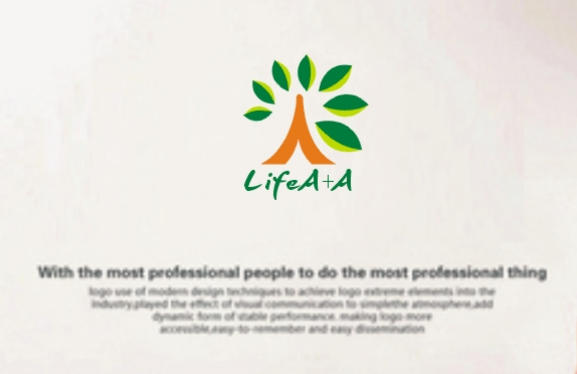 q11 'lifeA+A' Health care company Logo Chinese Logo design