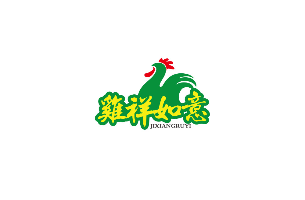 Poultry farms Logo-Chinese Logo design