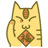 25 26 Meomeoneko cat Emoticons Downloads Emoji cat emoticons cat emoji