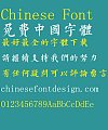 Super cool Regular script character Font-Traditional Chinese