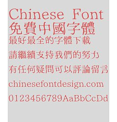 Permalink to Tweets Fluctuation Font-Traditional Chinese