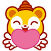 Cute cartoon bear emoticons downloads
