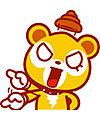 Cute cartoon bear emoticons downloads