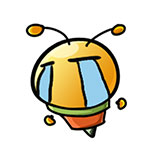 34f25687d36c88b3a36b738baa282bfe Cute little bee free smiley emoticons bee emoticons bee emoji