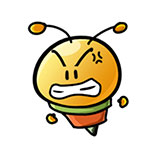 3da24a393da91fdc88122f271ce14a34 Cute little bee free smiley emoticons bee emoticons bee emoji