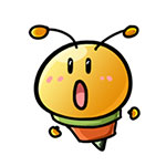 56009ff93ce650828a794878abed8b30 Cute little bee free smiley emoticons bee emoticons bee emoji