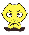 Cute cartoon lemon communicator emoticons