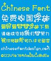 Love bowknot girl Font-Simplified Chinese