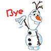834ee503b928ee74728db3d2e6b76681 Frozen snowman animated emoticons emoji download
