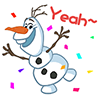 9f9d6dffa51393850c19c2f14c3ed1a8 Frozen snowman animated emoticons emoji download