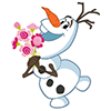 dd0d3f8e9b02ecbcafef6745f01d22f7 Frozen snowman animated emoticons emoji download