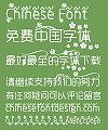 Rounded corners Decorative pattern design Font–Simplified Chinese