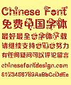 Hello kitty Font-Simplified Chinese