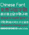 Lovely dragon Font-Simplified Chinese