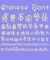 Smiling face emoji (Calista) Font-Simplified Chinese