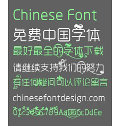 Permalink to Rounded art pattern Font-Simplified Chinese