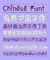 Lovely stars love radish cat lips Font-Simplified Chinese