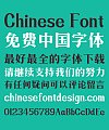 Zao zi Gong fang Modesty Simsun Font-Simplified Chinese