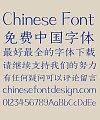 Zao zi Gong fang Carving Simsun Font-Simplified Chinese