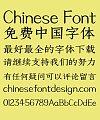 Zao zi Gong fang Carving Simsun Bold Font-Simplified Chinese