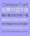 Zao Zi Gong Fang Elegant Bold Figure Super Slim Font-Simplified Chinese