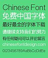 Zao Zi Gong Fang Elegant Bold Figure Slender Font-Simplified Chinese
