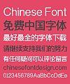 Zao Zi Gong Fang Elegant Bold Figure Standard Font-Simplified Chinese