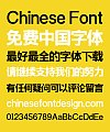 Zao Zi Gong Fang Elegant Bold Figure Super Bold Font-Simplified Chinese