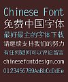 Ye Gen You Small  Song (Ming) Typeface Font-Simplified Chinese