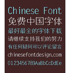 Permalink to Ye Gen You Small  Song (Ming) Typeface Font-Simplified Chinese