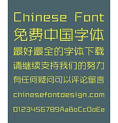Permalink to Sharp  Stylish Nifty Font-Simplified Chinese