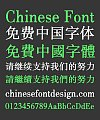 New Song (Ming) Typeface (Heiti TC Light) Font-Simplified Chinese-Traditional Chinese