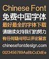 Zao Zi Gong Fang Elegant Bold Figure Overstriking Font-Simplified Chinese