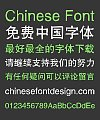 Ye Gen You Sacred monument Font-Simplified Chinese