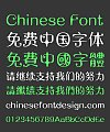 Fruity Font-Simplified Chinese-Traditional Chinese