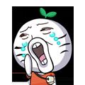 02 30 Funny green radish head emoji download