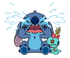 021 82 Stitch Funny chat emoji images are downloaded