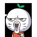 06 30 Funny green radish head emoji download