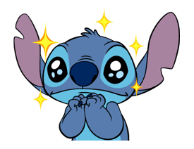 121 82 Stitch Funny chat emoji images are downloaded