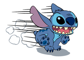 181 82 Stitch Funny chat emoji images are downloaded
