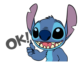 221 82 Stitch Funny chat emoji images are downloaded