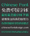 Jazz love Chinese Font-Simplified Chinese