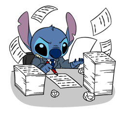 38 82 Stitch Funny chat emoji images are downloaded