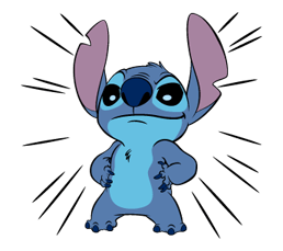 41 82 Stitch Funny chat emoji images are downloaded