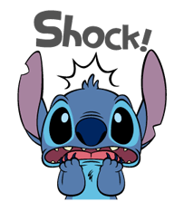 51 82 Stitch Funny chat emoji images are downloaded