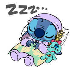 56 82 Stitch Funny chat emoji images are downloaded