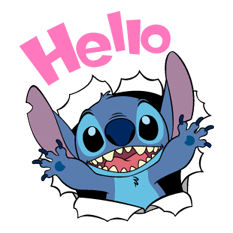 65 82 Stitch Funny chat emoji images are downloaded